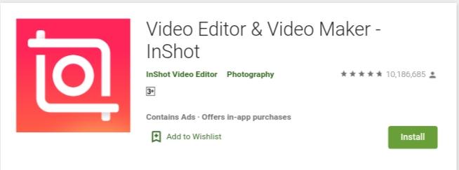वीडियो बनाने वाला ऐप्स