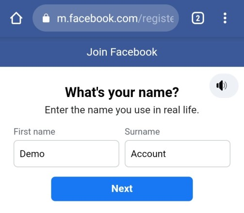 How to create facebook account in hindi