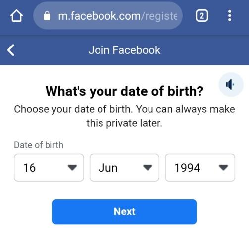 फेसबुक एकाउंट कैसे बनाये